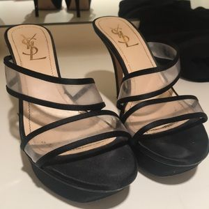 YSL Yves Saint Laurent Heels 38.5